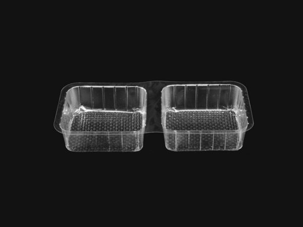 DMD 28D - Double Cavity Square Tray