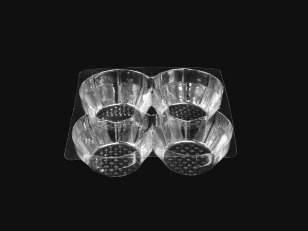 DMD 2 - 4 Cavity round Tart Tray