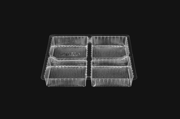 DMD 48 - 4 Cavity Square Slice Tray