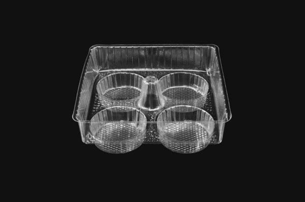 DMD 49 - 4 Cavity Fairy cake Tray