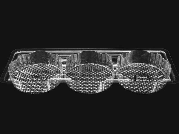 DMD 73 - 3 Cavity Pie / Pate Tray