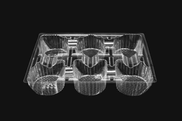 DMD 85 - 6 Cavity Round Biscuit Tray