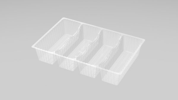 DMD 98 - 4 Cavity Deep Éclair Tray