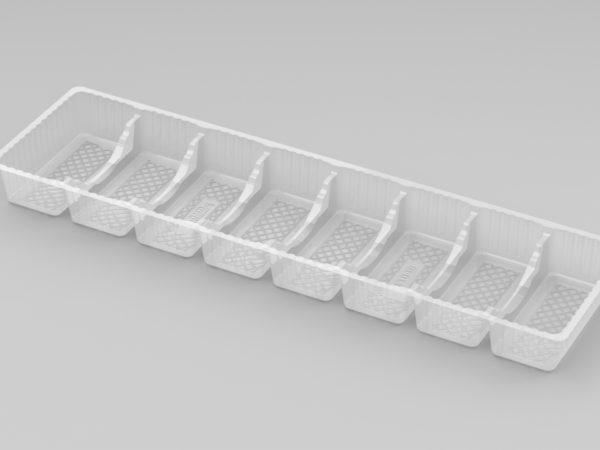 11039 - 8 Cavity Finger Tray