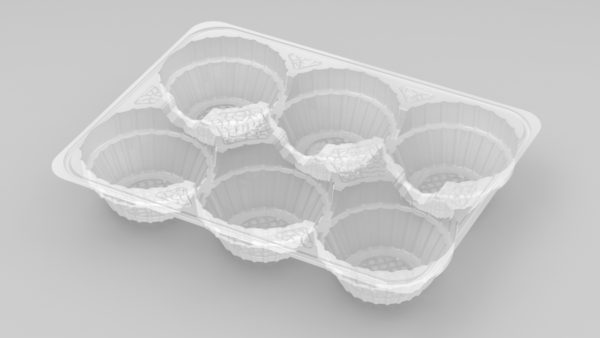 11190 - 6 Cavity Mince Pie Tray
